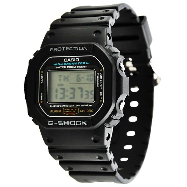 CASIO G-SHOCK DW-5600E-1VDF