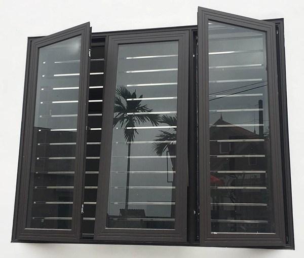 Cửa sổ nhôm xingfa giúp nhà không bị mưa tạt