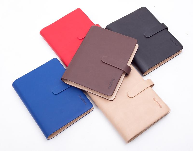 Quà tặng sổ tay bằng da đa dạng màu sắc thích hợp cho nhiều đối tượng