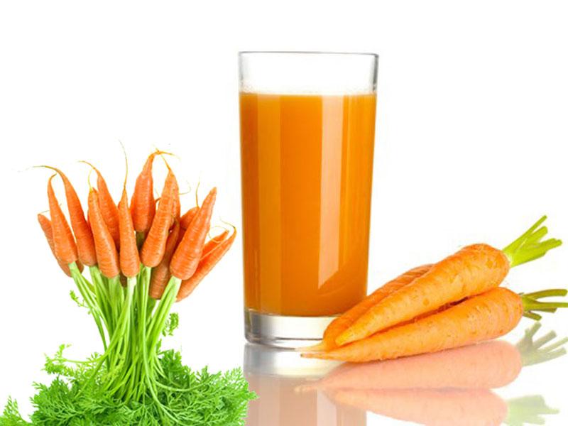 Cà rốt là loại thực phẩm tốt để phục hồi vết thương