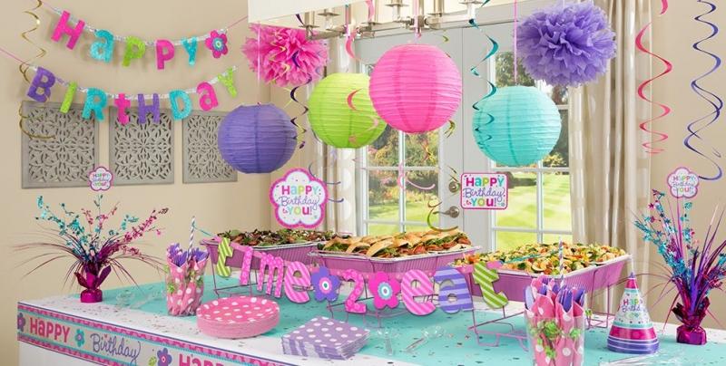 Mua đồ trang trí sinh nhật cho bé trai và gái tại party