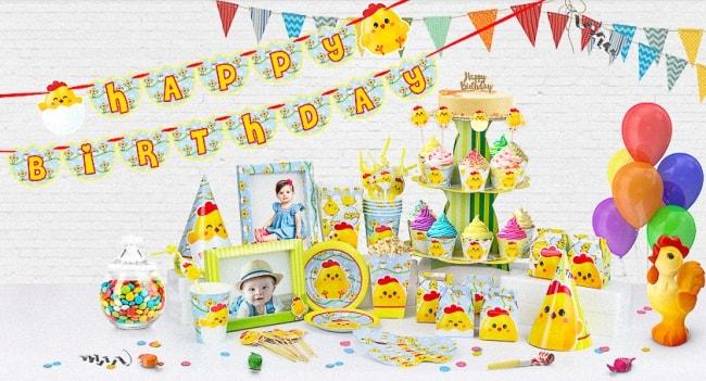 Nơi cung cấp phụ kiện trang trí sinh nhật giá cả hợp lý