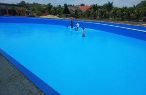 Sử dụng sơn Epoxy chống thấm cho hồ bơi