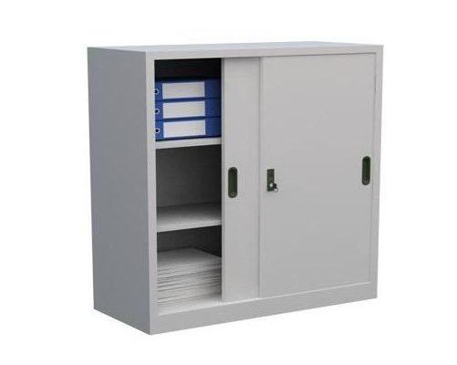Tủ hồ sơ văn phòng bằng sắt có khóa