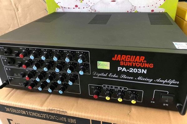 Amply Jarguar 203N đã có mặt trên thị trường 2 thập kỷ