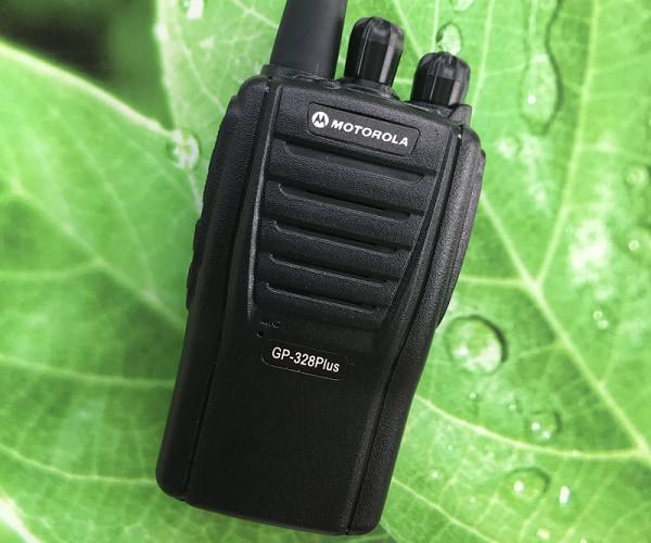 Chất lượng âm thanh của máy bộ đàm Motorola 328 ổn định trong mọi môi trường