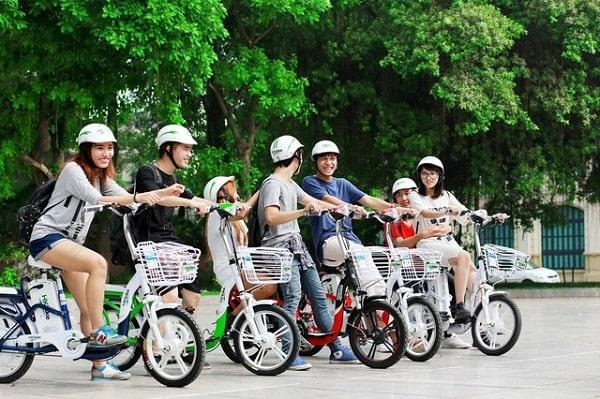 Xe đạp điện kiểu dáng trẻ trung, hiện đại dành cho lứa tuổi học sinh