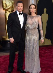 Khoảnh khắc đẹp của Brad Pitt và Angelina Jolie tại Oscar 2014 khi chưa ly hôn