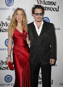 Johnny Depp trên thảm đỏ