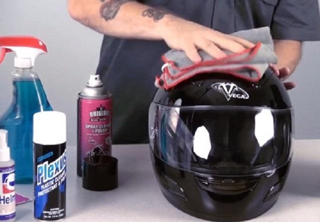 cách vệ sinh mũ bảo hiểm