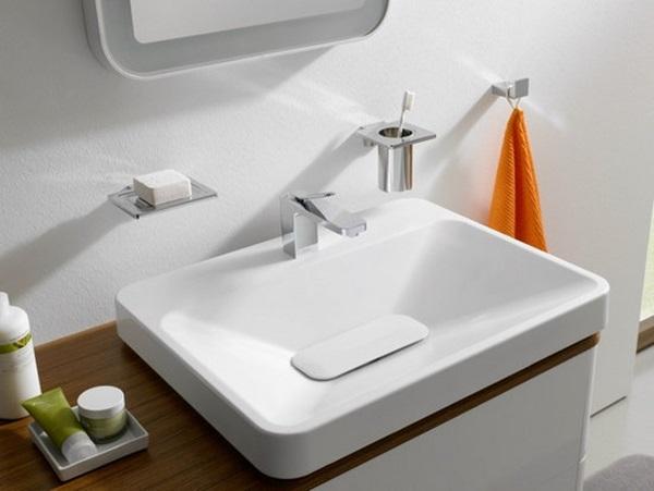 Chậu rửa mặt lavabo chính hãng hài hòa không gian phòng tắm
