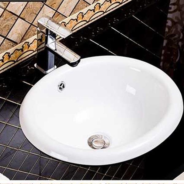 Chậu rửa mặt lavabo chính hãng giúp dễ lau chùi vệ sinh