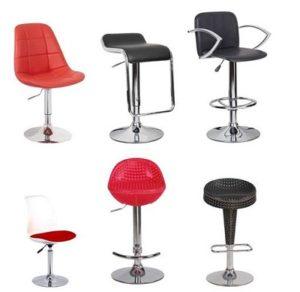 Các loại ghế quầy bar phổ biến