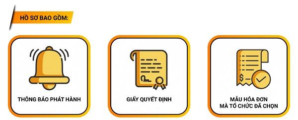 hồ sơ đăng ký hóa đơn điện tử
