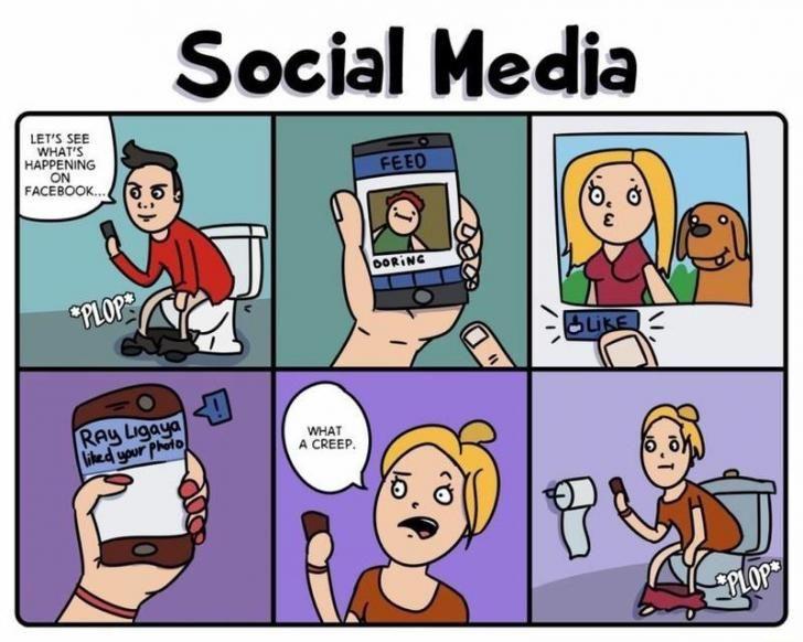 đối tượng Social Media