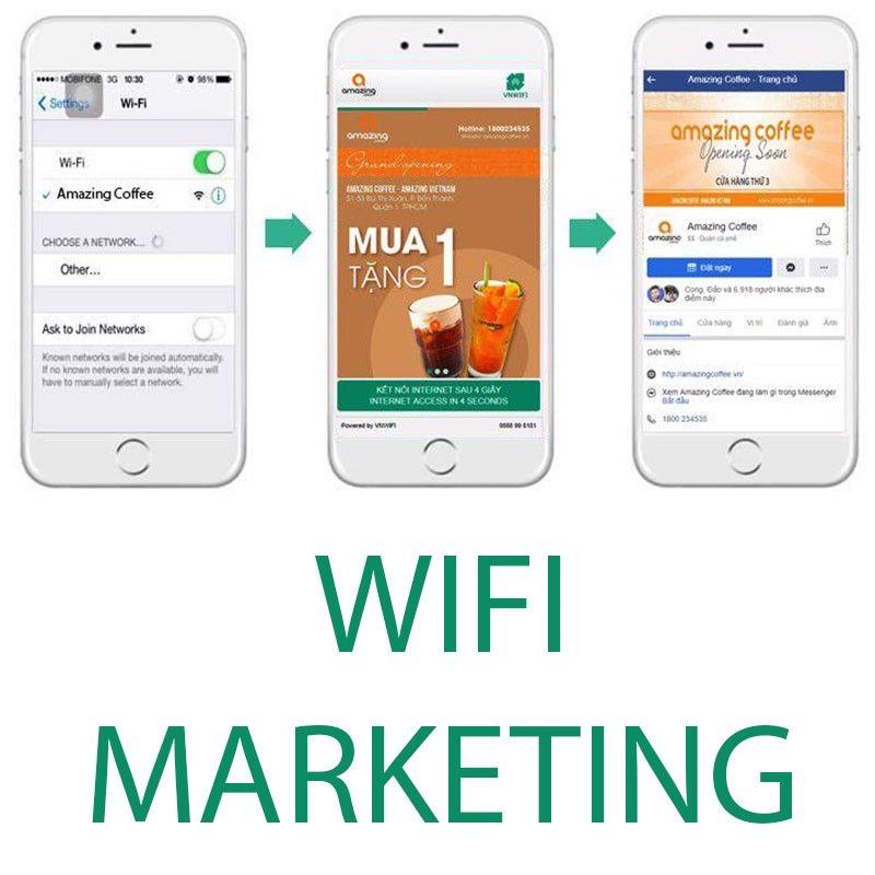 Lợi ích to lớn của wifi marketing đối với doanh nghiệp