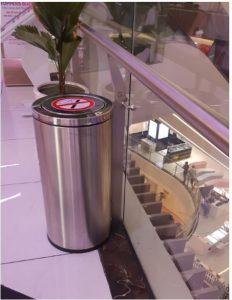 Đặc tính của thùng rác inox