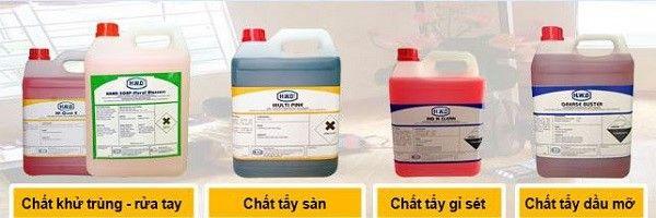 Butyl Cellosolve được ứng dụng trong ngành hóa chất tẩy rửa