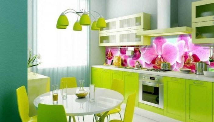 Báo giá kính màu ốp bếp 3D
