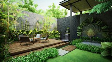 Lựa chọn bố trí sân vườn theo phong cách Châu Âu mang đến sự sang trọng và thanh nhã