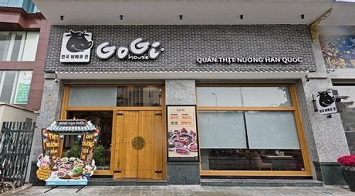 Mẫu Biển quảng cáo nhà hàng GoGi