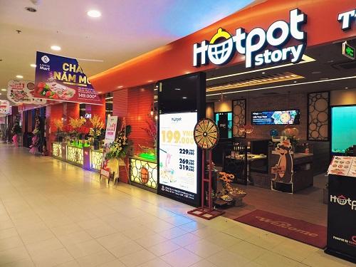 Mẫu Biển quảng cáo nhà hàng Hotpot Story