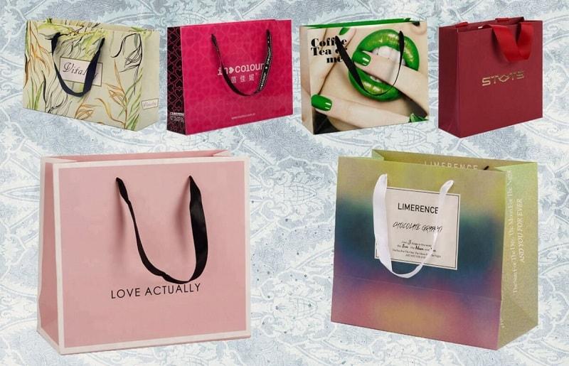 Các mẫu thiết kế túi giấy thời trang đẹp