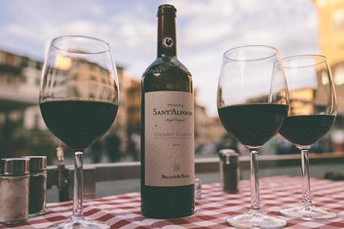 Hương vị đặc trưng khó quên của rượu nho Italy