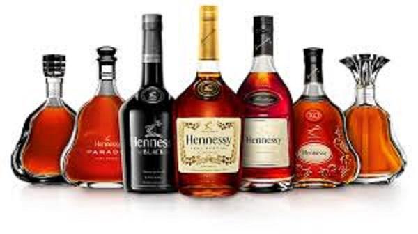 Thương hiệu rượu Hennessy nổi tiếng