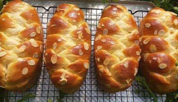 Nguyên liệu để làm bánh mì hoa cúc