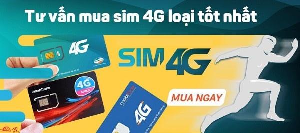 Sim 4G mạng nào rẻ nhất? Nên mua sim 4G mạng nào?
