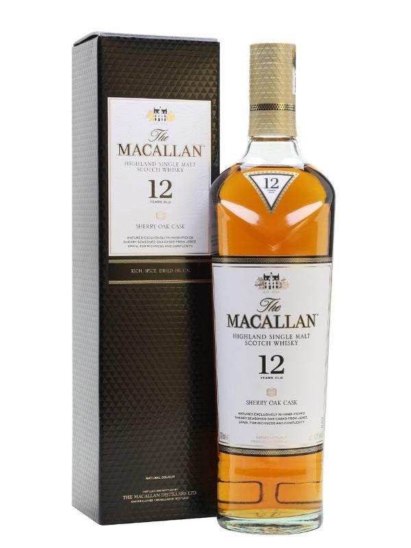 Macallan 12 sherry oak tại Rượu Thiên Long