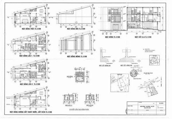 Bản vẽ xây dựng là bản vẽ mà người thiết kế phác họa lại bằng các ký hiệu trong xây dựng
