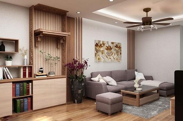 Phòng khách vuông vắn, đối xứng sẽ có sinh khí tốt, luân chuyển dễ dàng hơn