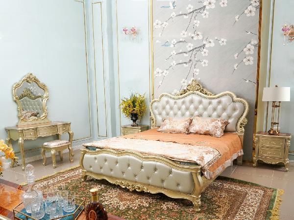 Ưu điểm khi chọn combo nội thất phòng ngủ tân cổ điển