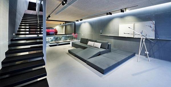 Phòng khách được thiết kế rộng rãi mang lại nhiều thuận lợi cho gia chủ