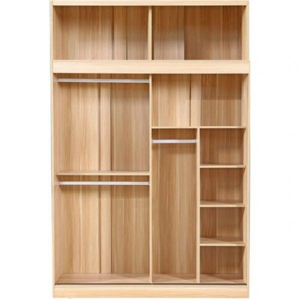 Thiết kế nhiều ngăn tiện lợi cho việc sắp xếp đồ đạc