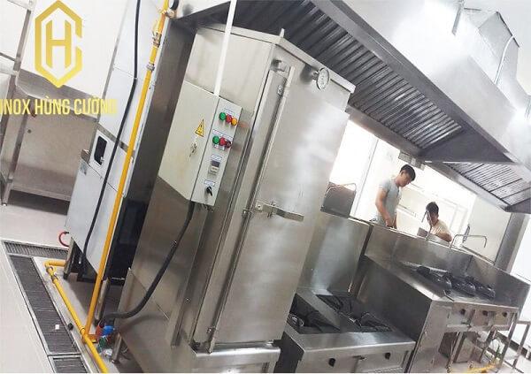 Tủ nấu cơm công nghiệp cao cấp.