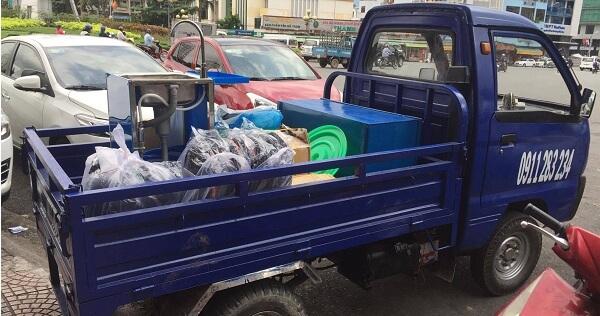Xe ba gác chất lượng có độ bền cao.
