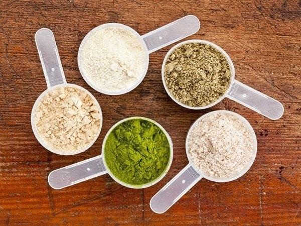Bột protein thực phẩm organic sẽ tăng cơ, giảm lượng mỡ hoàn hảo cho người ăn chay