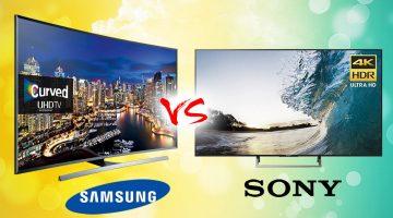 So Sánh Tivi Samsung Và Sony